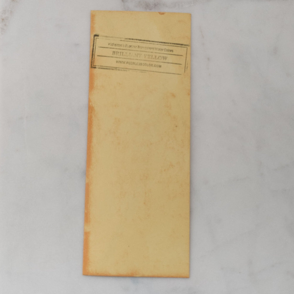 Brilliant Yellow - Dry Peerless Water Color - Single Sheet