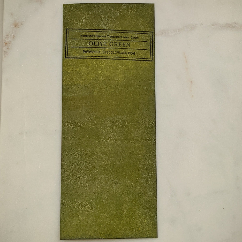 Olive Green - Dry Peerless Water Color - Single Sheet