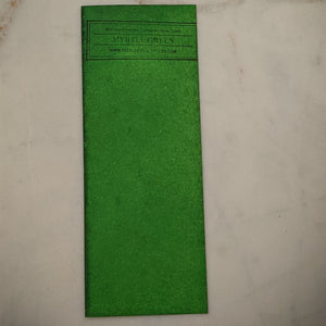 Myrtle Green - Dry Peerless Water Color - Single Sheet