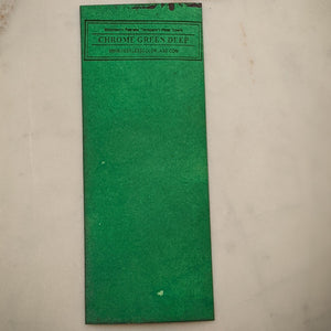 Chrome Green Deep - Dry Peerless Water Color - Single Sheet