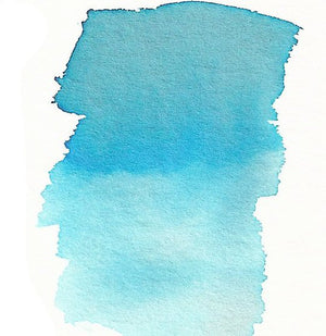 Butterfly Wing Blue - Dry Peerless Water Color - Single Sheet