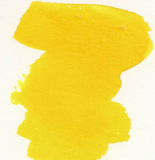 Gamboge Yellow - Dry Peerless Water Color - Single Sheet