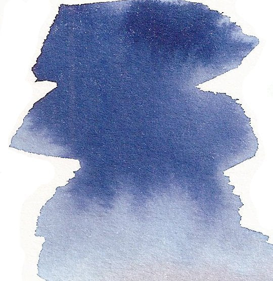 Alice Blue - Dry Peerless Water Color - Single Sheet