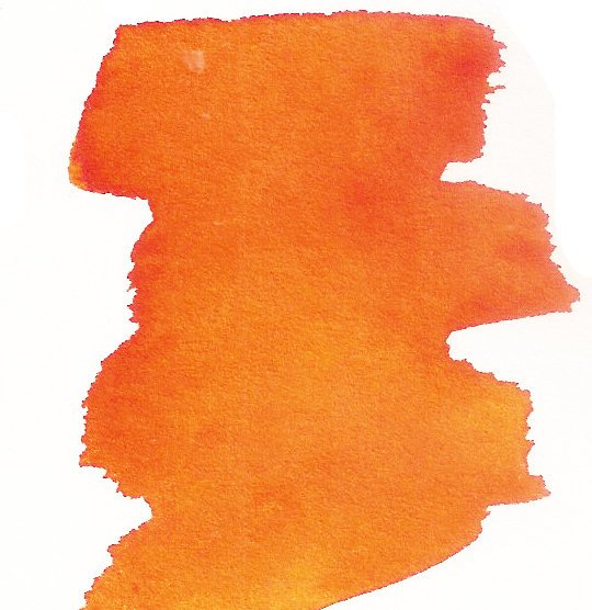 Chrome Orange - Dry Peerless Water Color - Single Sheet