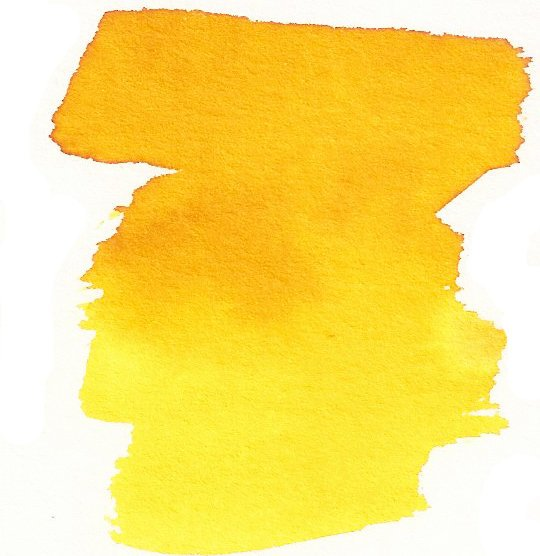 Marigold Yellow - Dry Peerless Water Color - Single Sheet