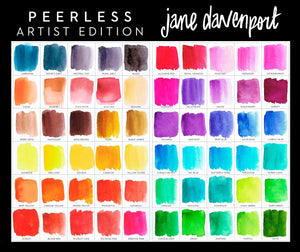 Jane Davenport Artist Edition - Peerless Watercolors - 60 Artist Selected Colors