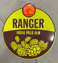 "Load image into Gallery viewer, Lot of 20 Ranger IPA Metal Signs, 18"", New Belgium Brewing"