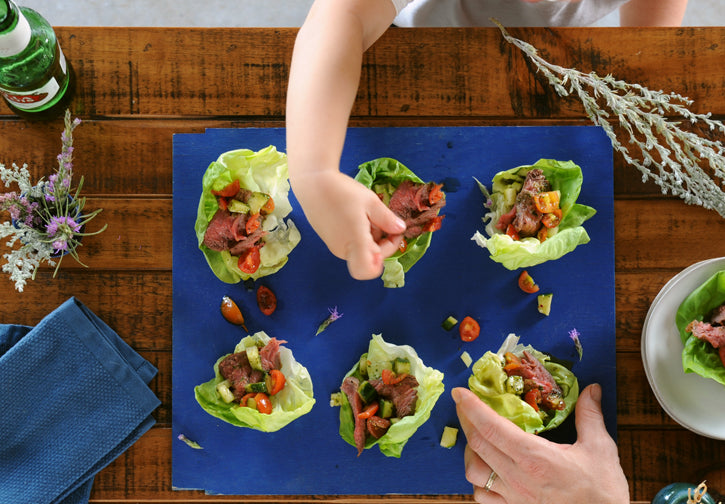 Steak Butter Cup Salads