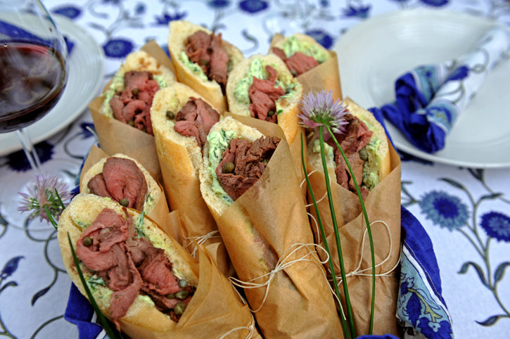 Roast Buffalo Sandwiches