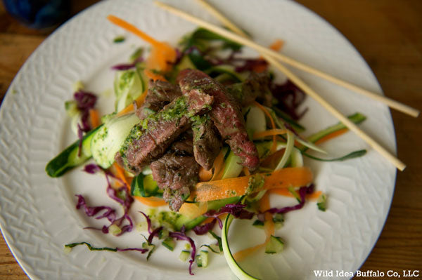 Vietnames Steak Strip Salad
