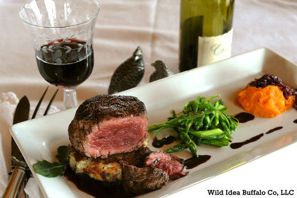 Bison Tenderloin Steaks at the White House Recipe