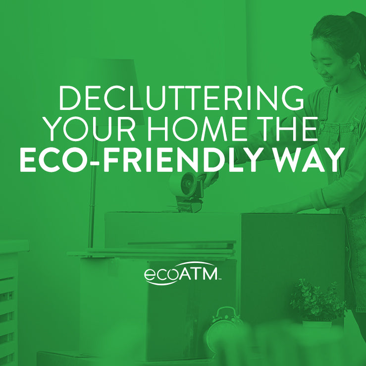 decluttering your home the eco friendly way