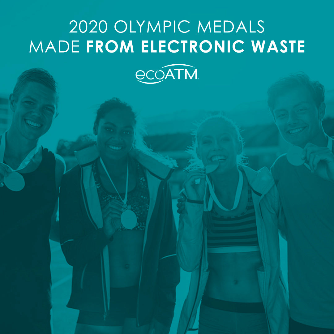 2020 Olympic Medals Are Made From Electronic Waste