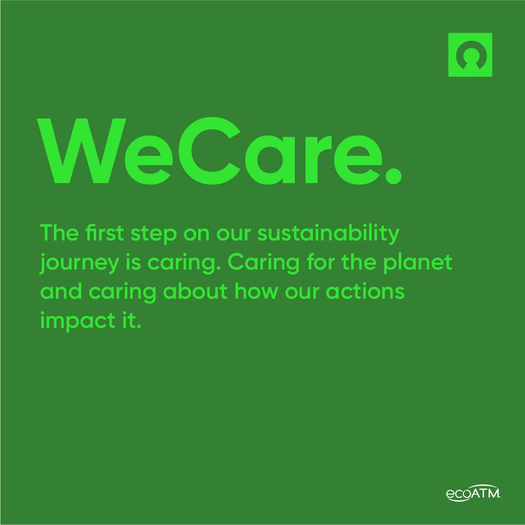 ecoatm cares about our planet