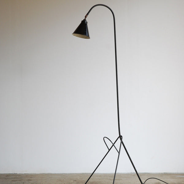 1950's French Tripod Floor Lamp
