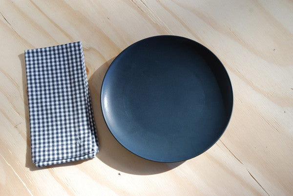 Linum Bjork Dinner Plate Black