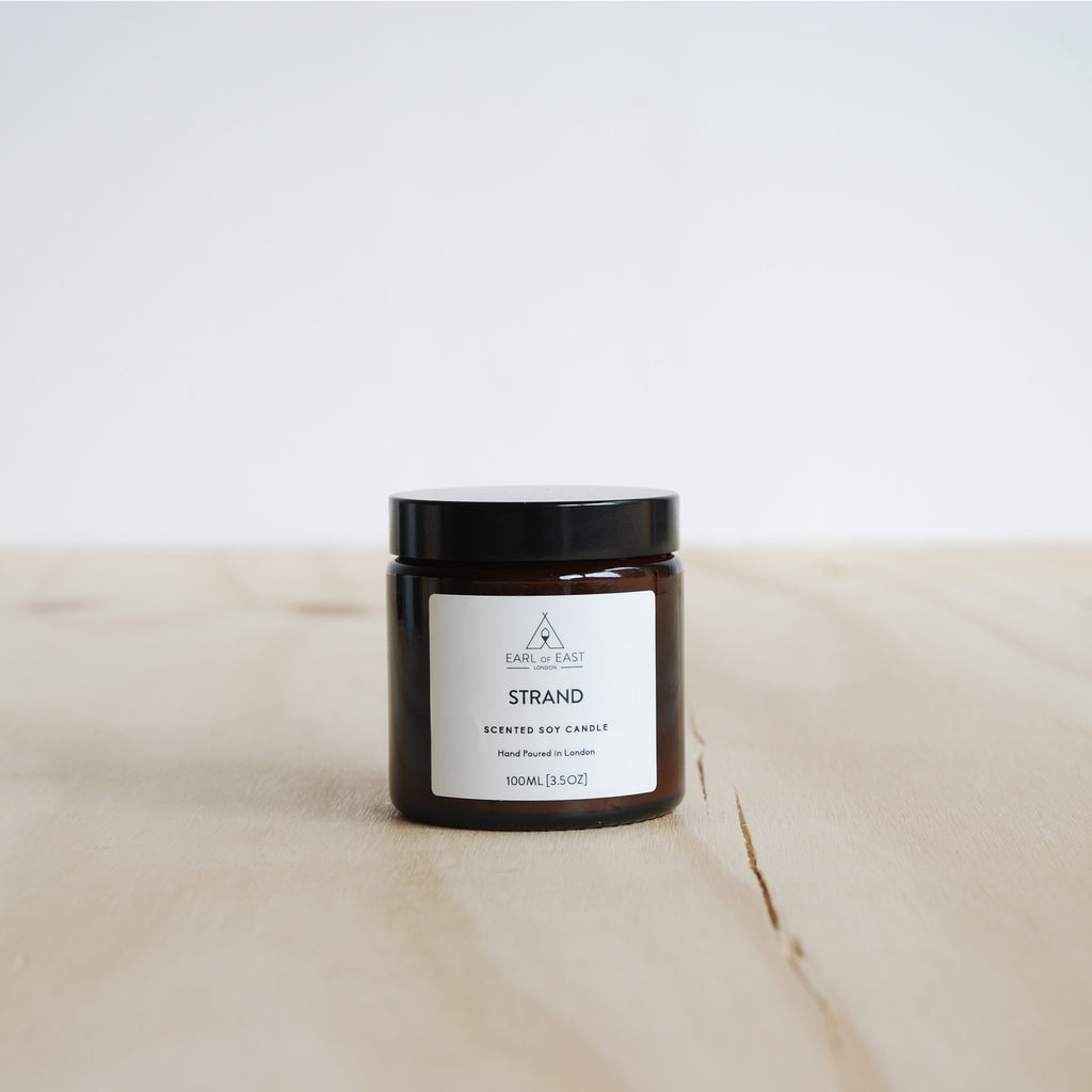 Earl Of East London Scented Soy Candle 3.5 oz - Strand