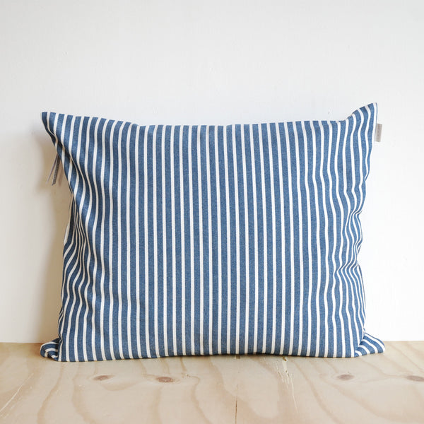Linum Camargue Cushion Blue