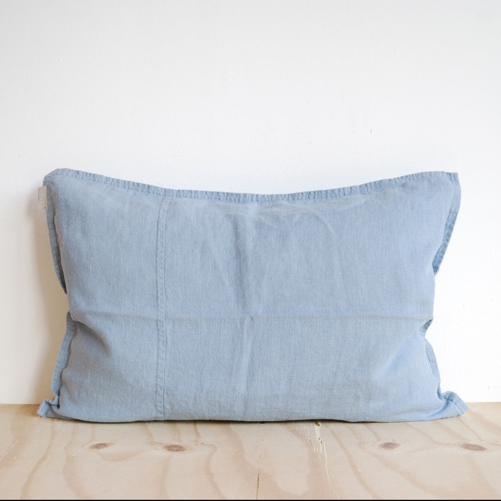 Linum West Cushion Light Blue