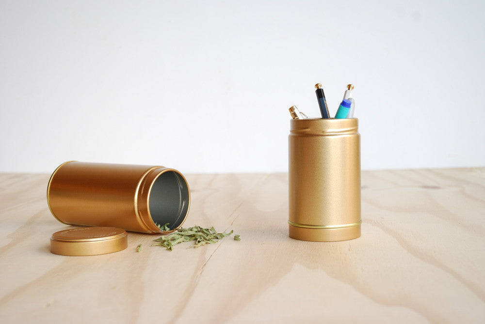Gold Cannisters