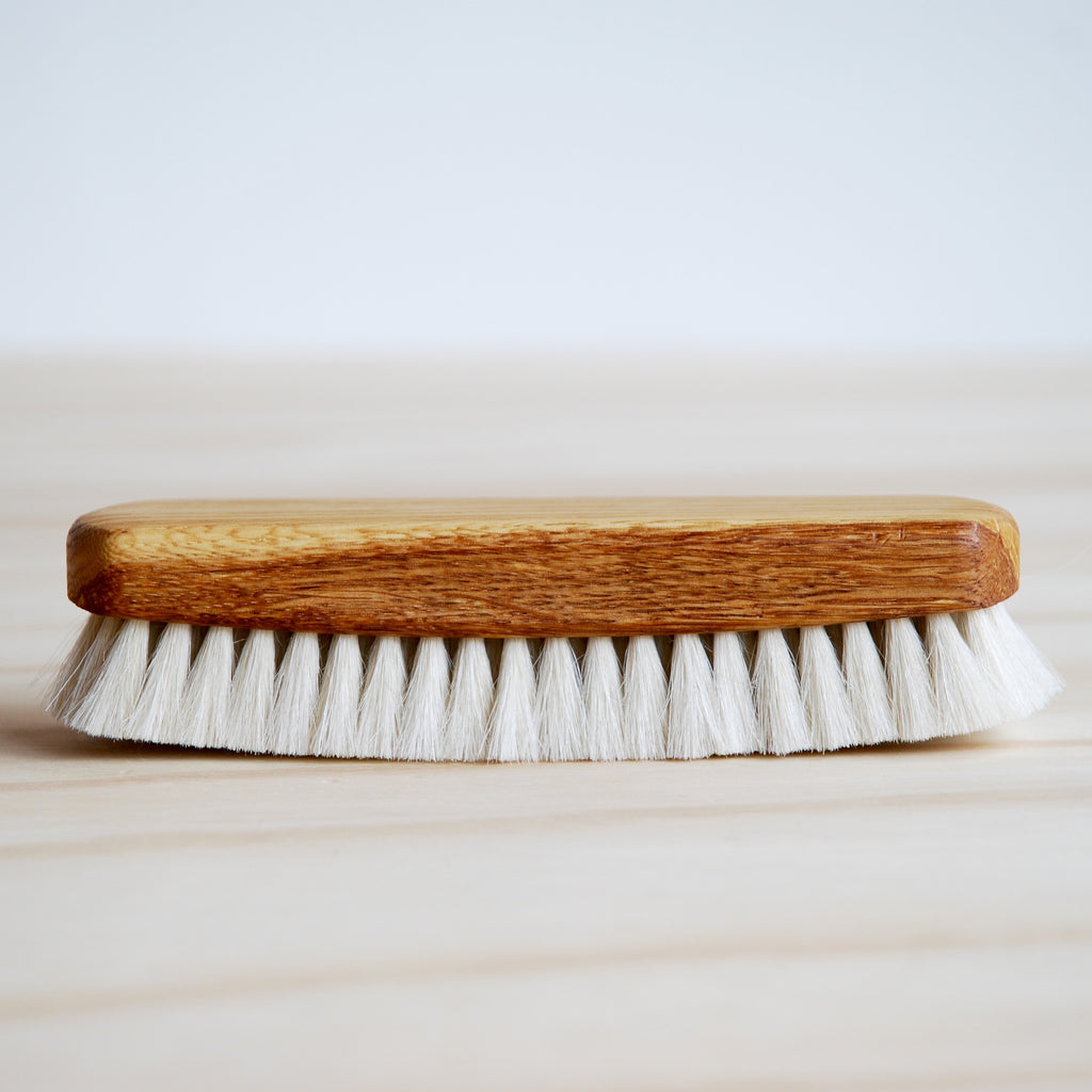 Wooden Shoe Shine Brush
