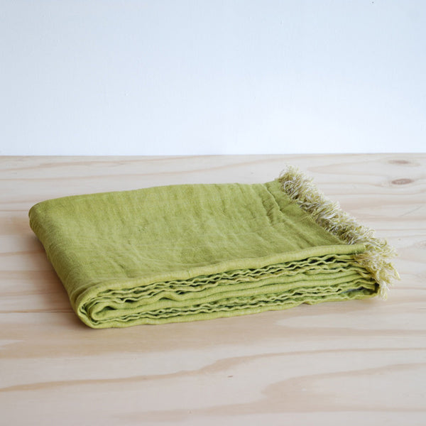 Linum Khadi Throw