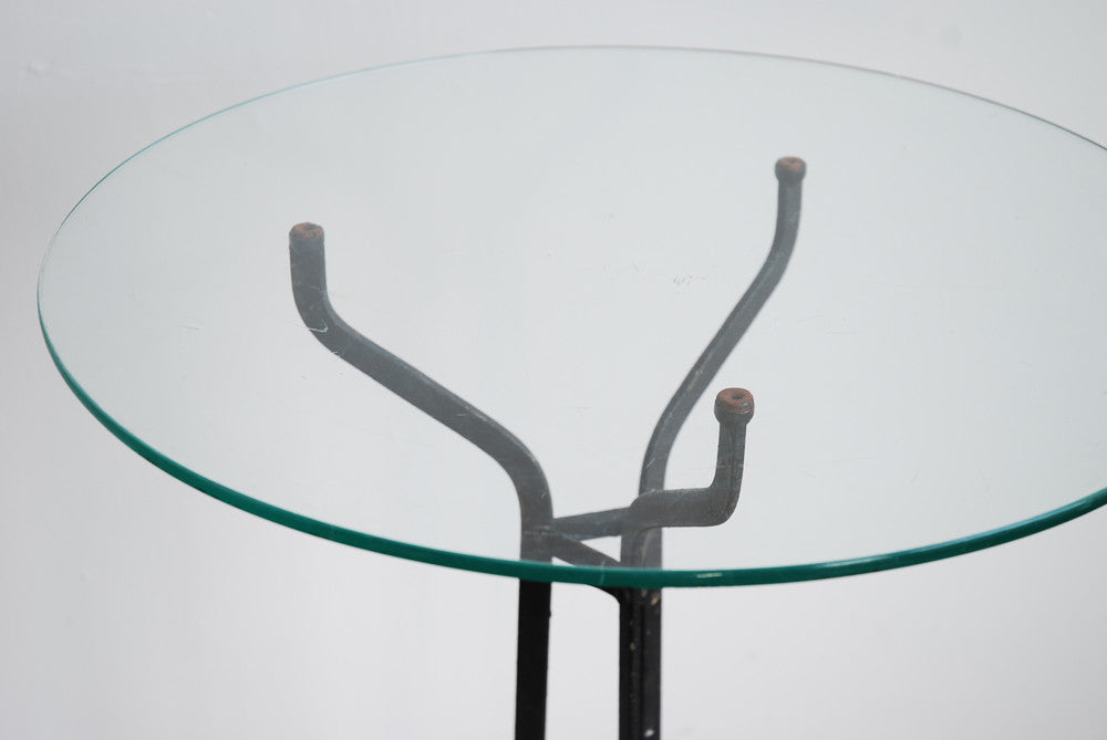 Pair of Glass Side Tables