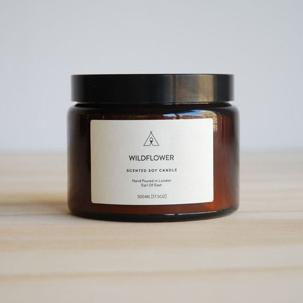 Earl Of East London Scented Soy Candle 17.5 oz