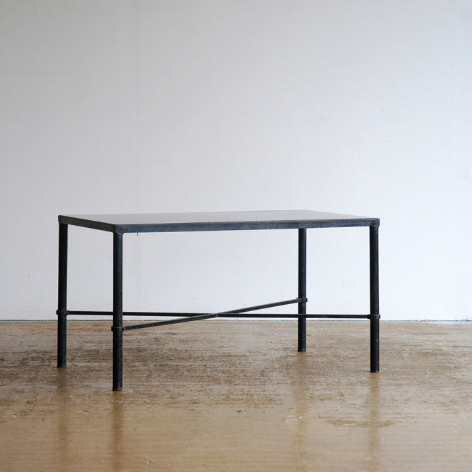 Black Cross Frame Coffee Table