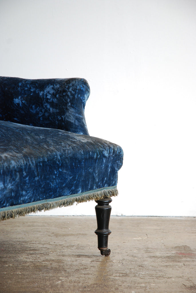 Crushed Velvet Armchair