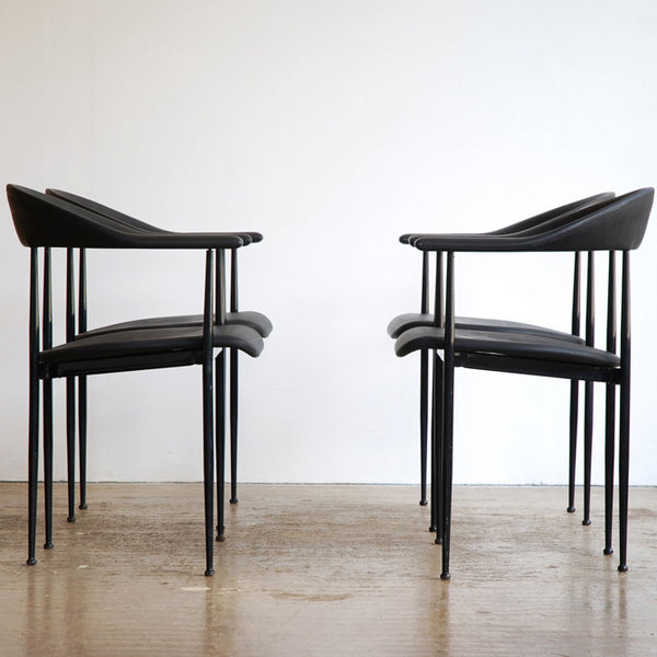 Giancarlo Vegni P70 chairs for Fasem