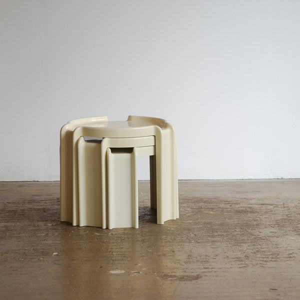 Giotto Stoppino for Kartell Nesting Tables