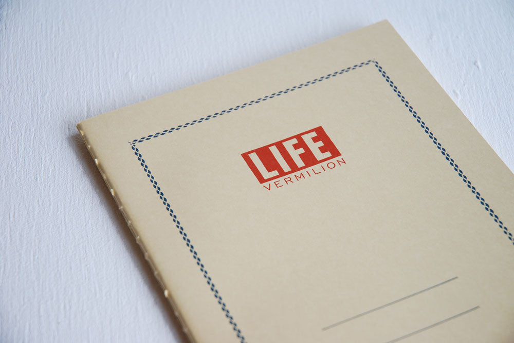 Life Vermilion Notebook