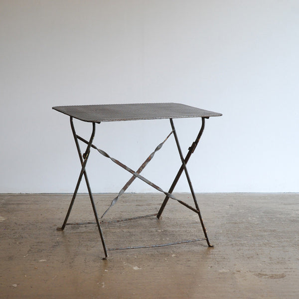 Pierced Metal Table