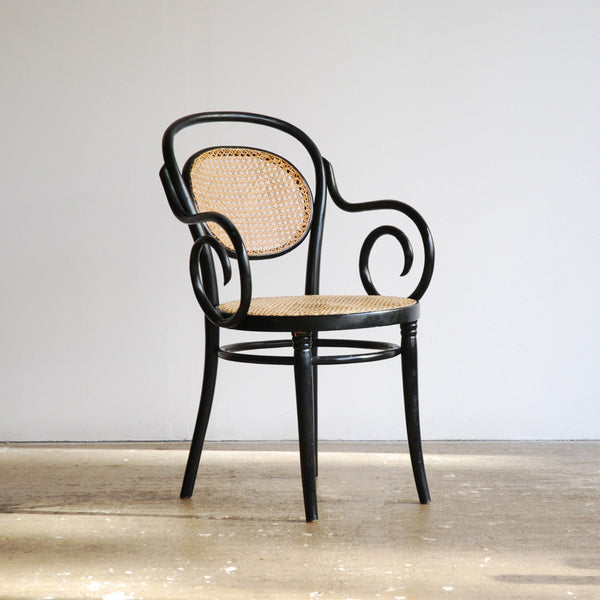 Black Bentwood Chair