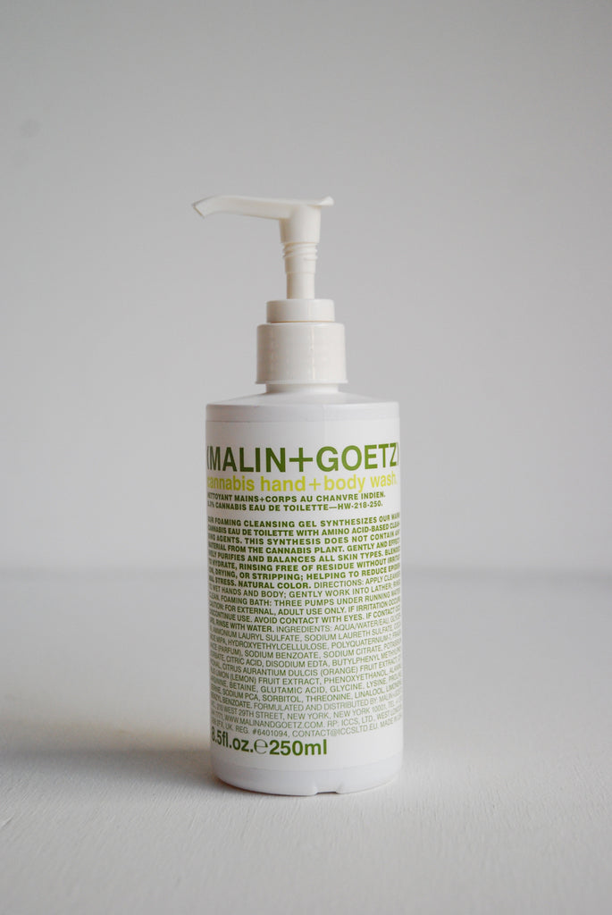 Malin + Goetz Cannabis Hand + Body Wash