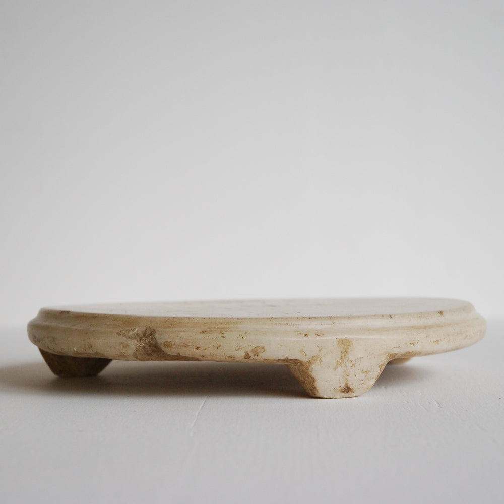 Raw Marble Serving Plate