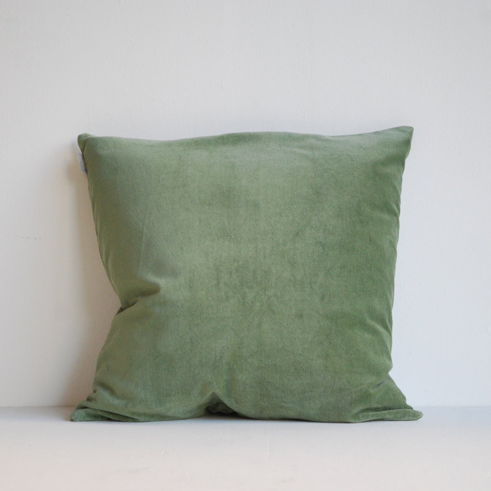 Linum Marcel Cushion Cypress Green