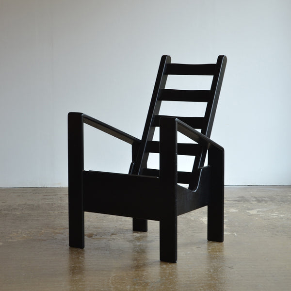 Black Angular Chair