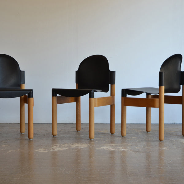 Gerd Lange Flex 2000 Chairs for Thonet