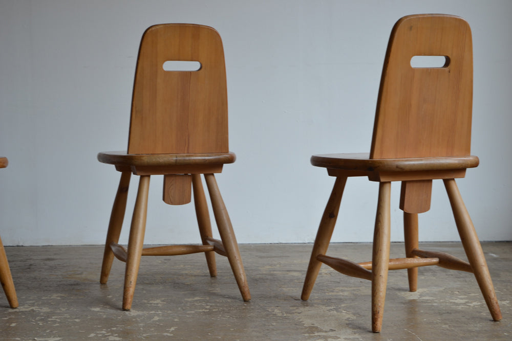 Eero Aarnio for Laukaan Puu Dining Chairs