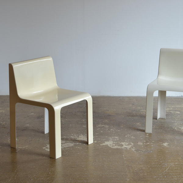 Pair of Italian Fibreglass Chairs