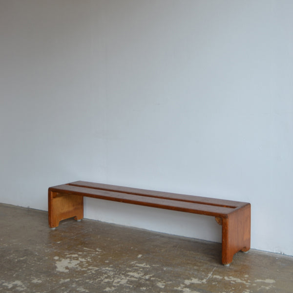 Bench in the manner of Charlotte Perriand
