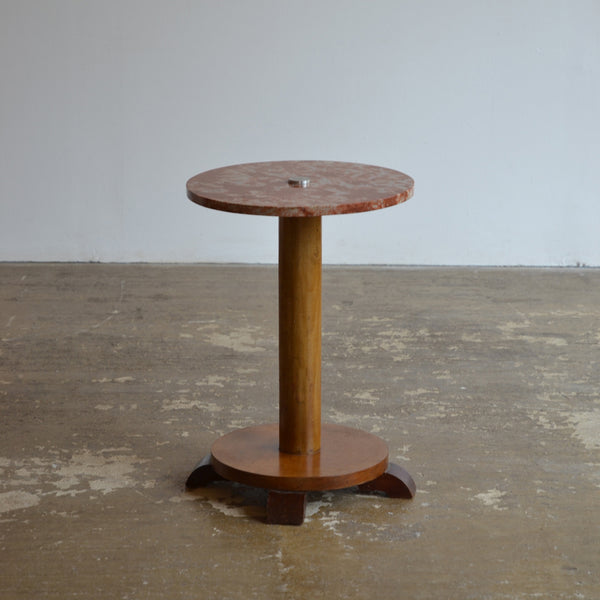 1930's Marble Side Table