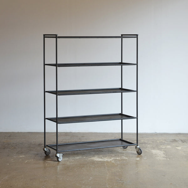 Perforated Metal Shelving by Dean Edmonds