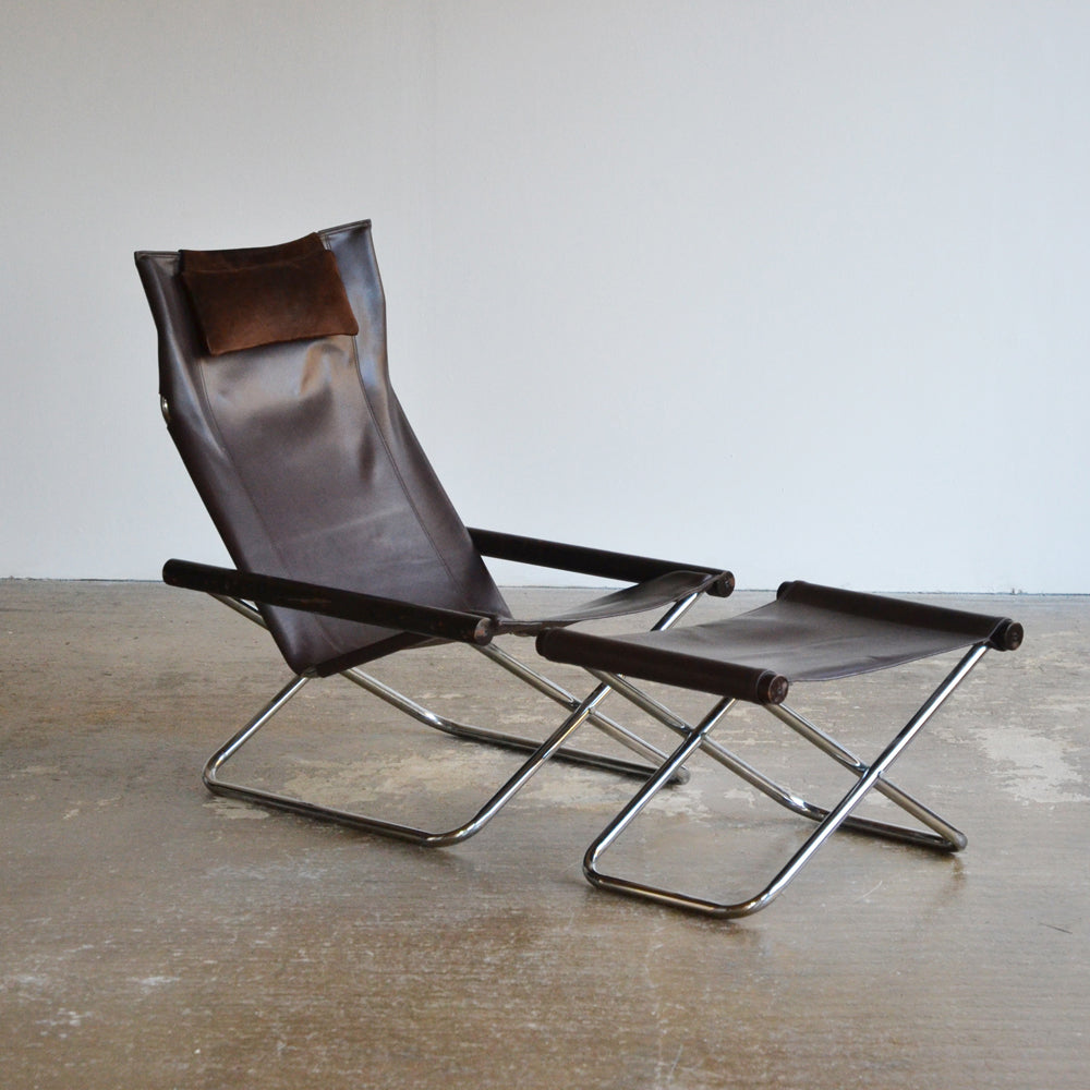 Takeshi Nii NY Folding Chair & Ottoman