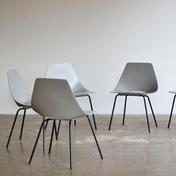 Set of 6 Pierre Gauriche Dining Chairs