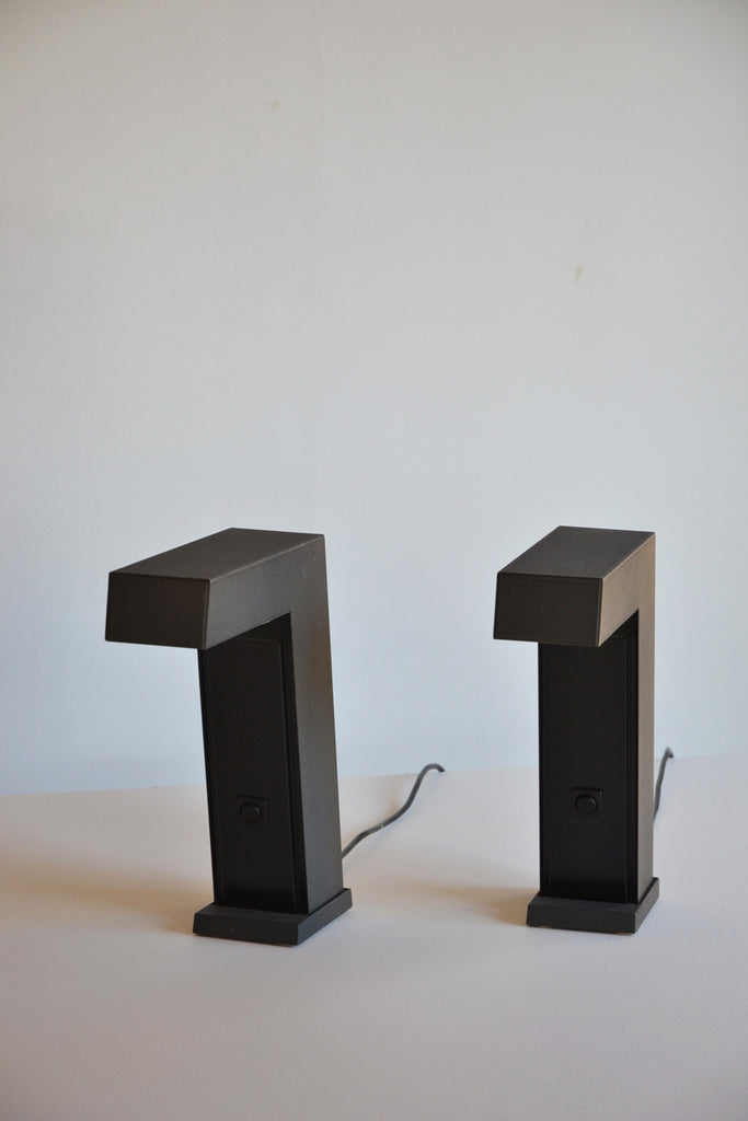 Pair of 1970's Table Lamps