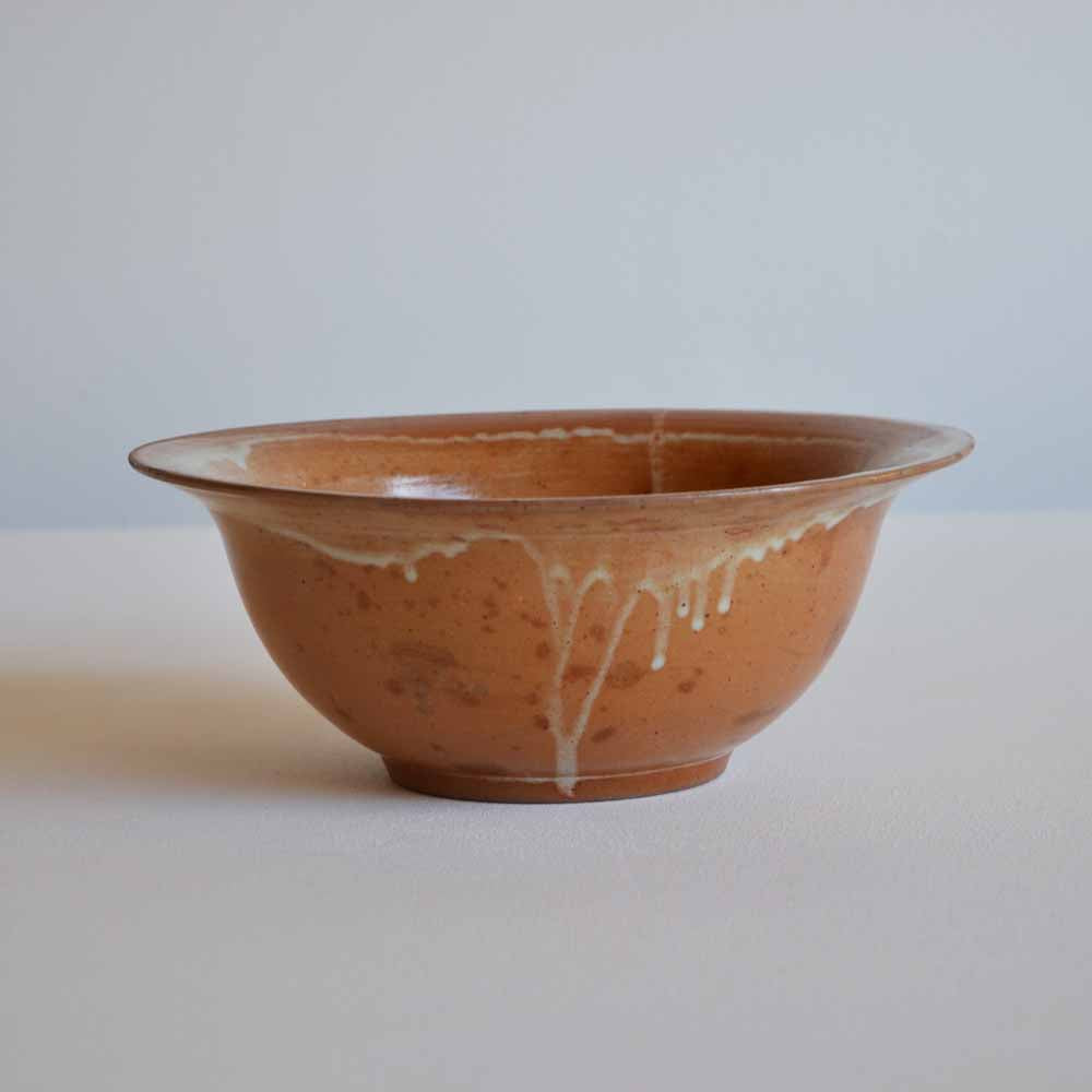 French Stoneware Serving Bowl