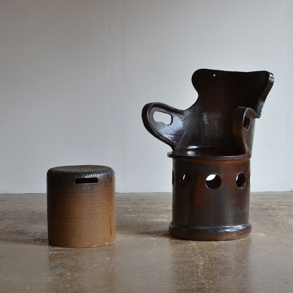 Ceramic Chair & Stool